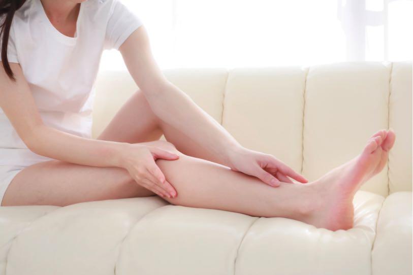 脱毛したい女性の脚